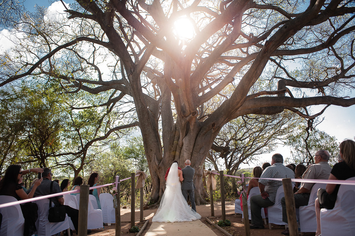 Kuthaba bush lodge wedding