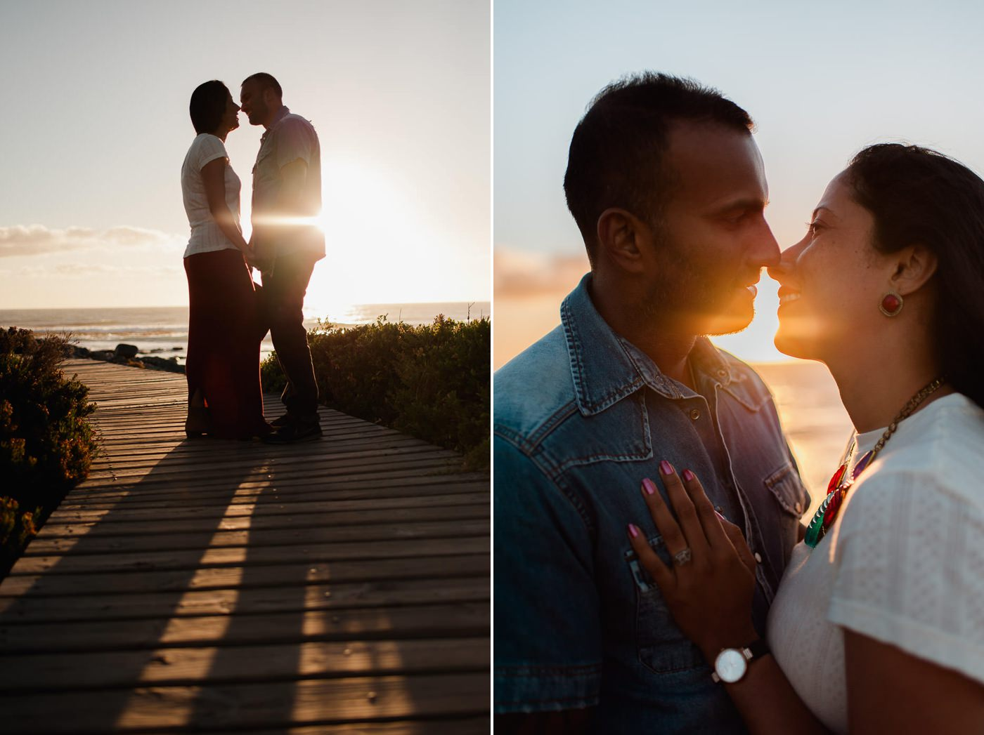 Kommetjie lighthouse engagement photography