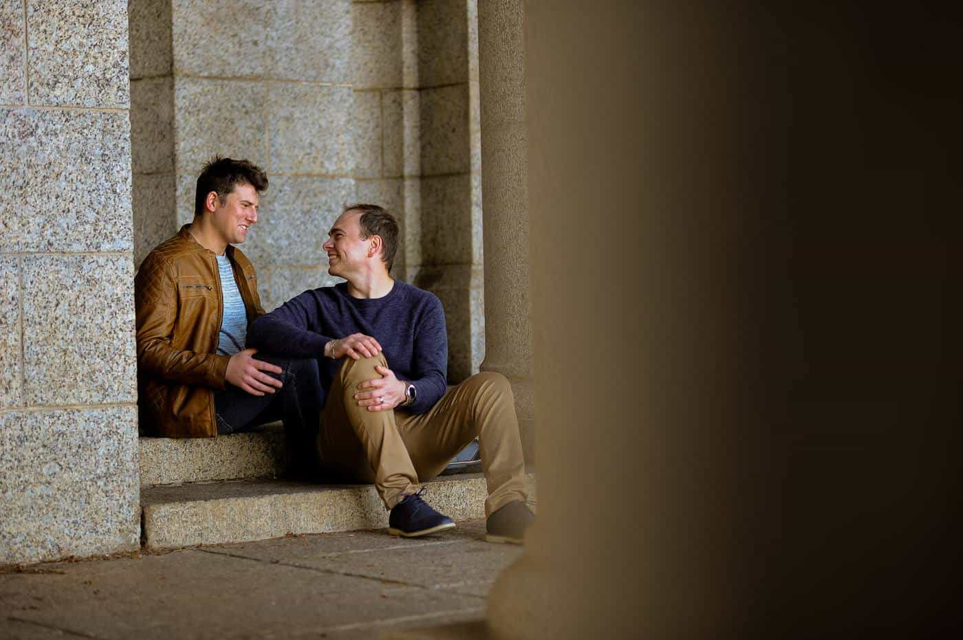 Rhodes Memorial Engagement Photography
