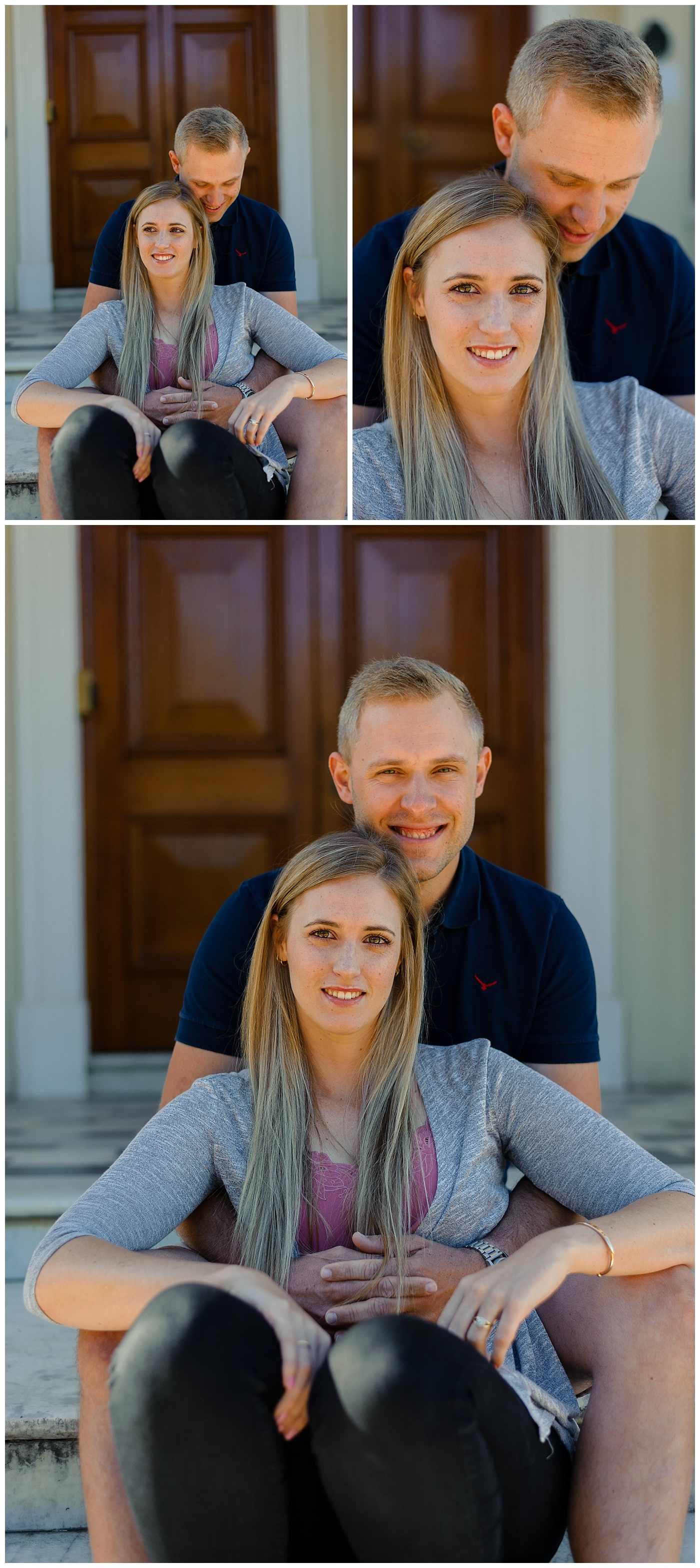 Stellenbosch engagement photography
