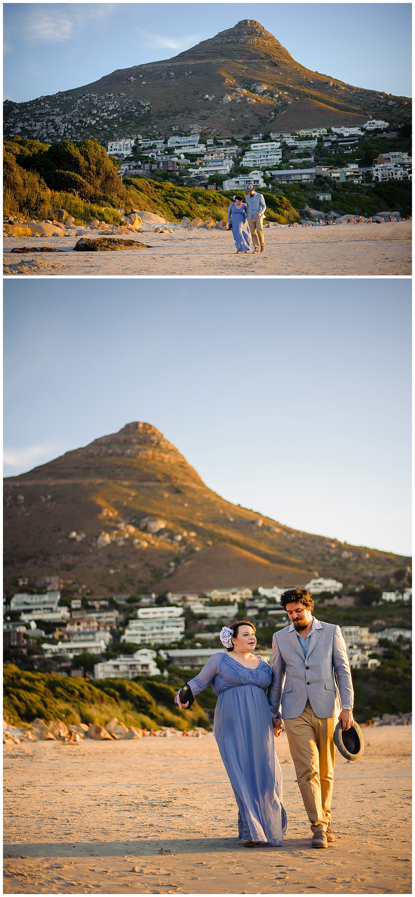 beach elopement wedding photography