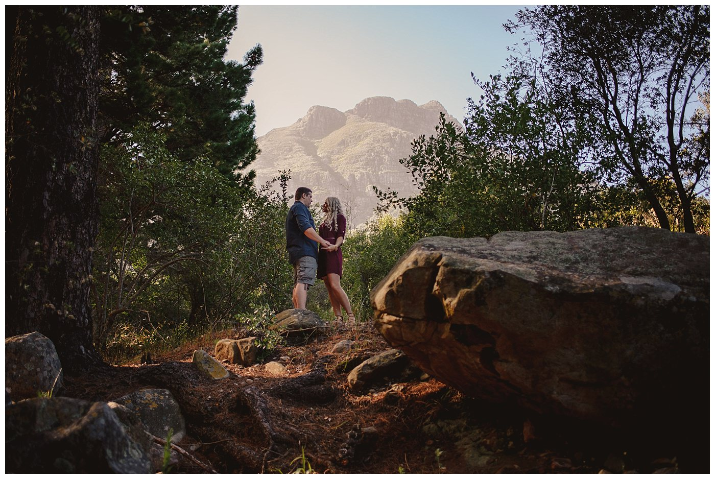 Newlands Forest Engagement Photography