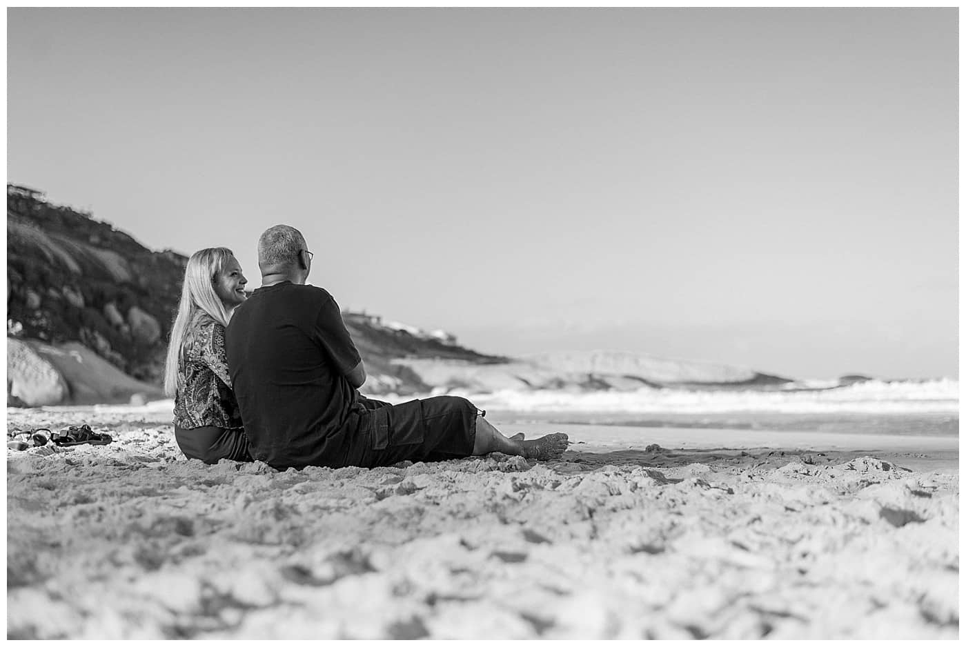 Llandudno beach engagement photography