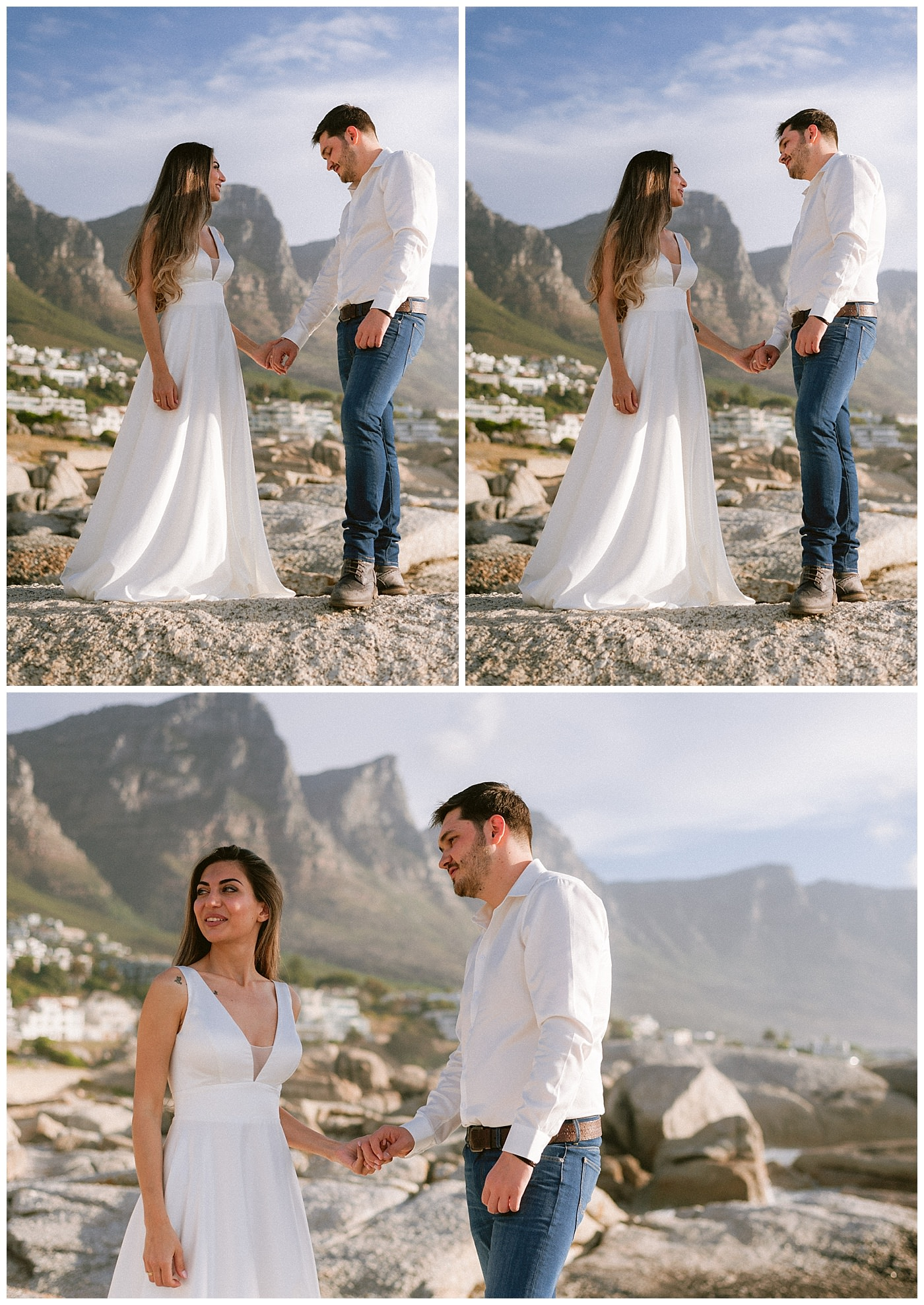 Cape Town beach wedding photography