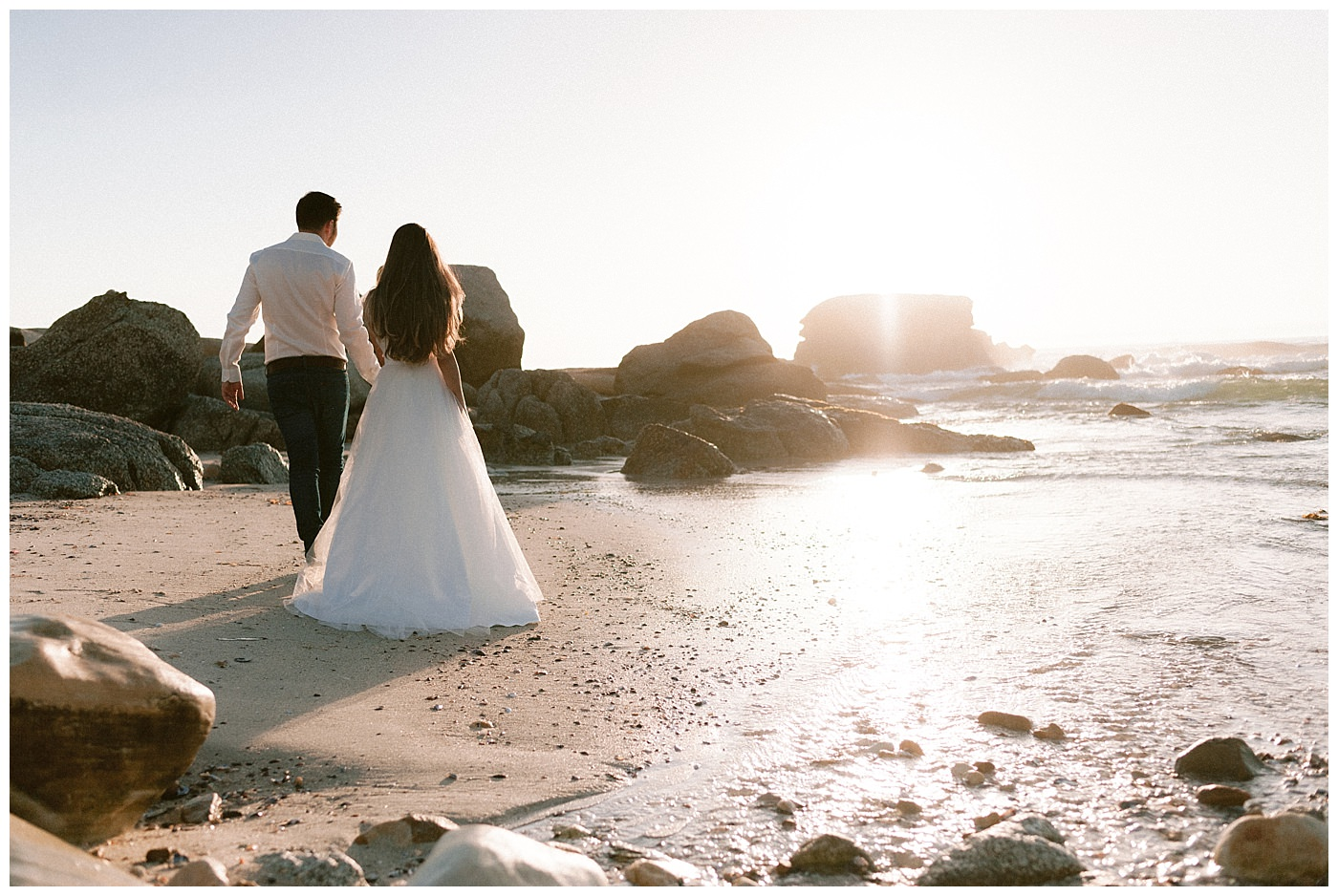 Cape Town beach wedding photographer