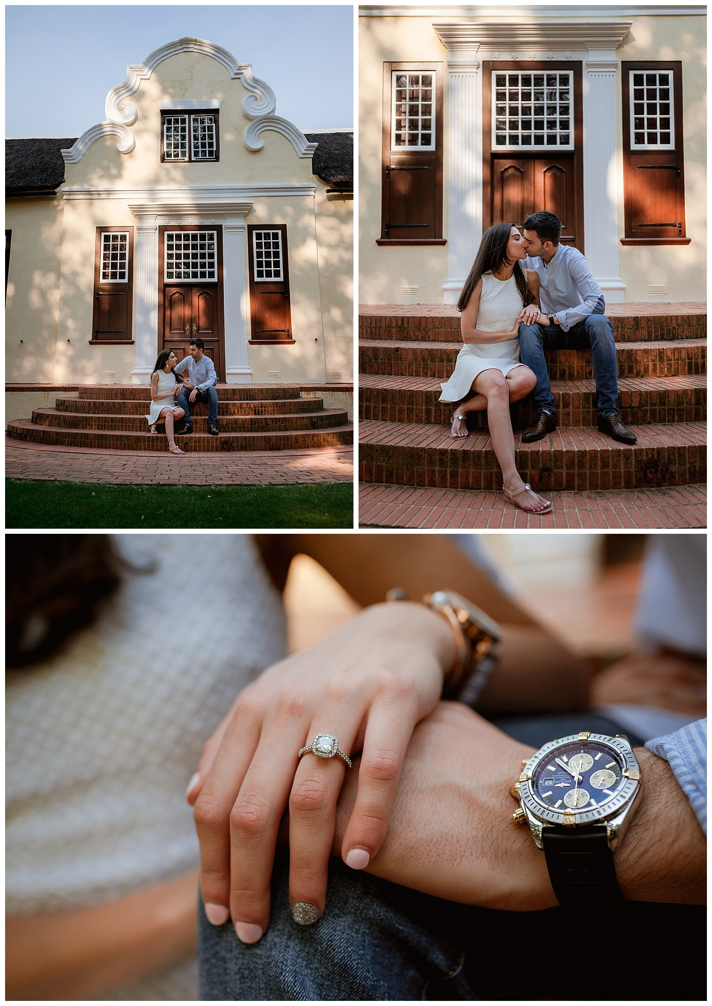 Vergelegen engagement photographer