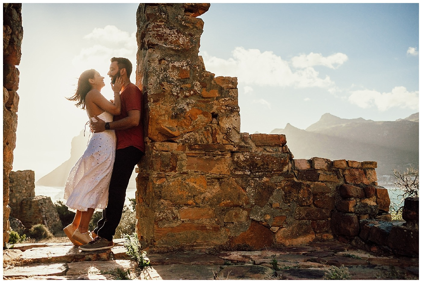 Chapmans Peak Engagement Photography