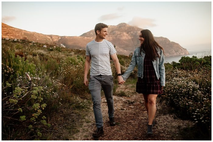 Chapman's Peak Engagement Photographer